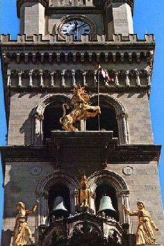 Messina - orologio meccanico Messina, Sicily Italy, B & B, Big Ben, Clocks, Villa, Tower, Architecture, Building