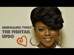 """Hi Everyone! Here's a quick video on how I created a """"Fishtail updo"""" with my Sengeles Twist. This look is inspired by Tierramonet here on YouTube...Check her video out at the link below. Thanks for watching!    http://www.youtube.com/watch?v=cldqBxzOwEg"""