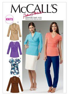 robe gilet /& pantalon Tailles 6-22 NEUF Butterick B6494 Motif Misses/'s Tops