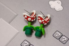 I have to make these with Polymer Clay!  This site has a lot of awesome ideas for the home too!