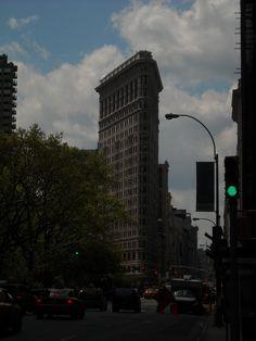 The Beautiful Flat Iron Building in NYC!!