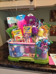 arts and crafts gift basket ideas 1000 images about fundraising silent auction baskets on 7442