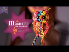 Craft-tastic Macrame Owl Kit - Advanced Version - YouTube