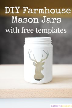 How to Paint Mason Jars with Chalk Paint glass jar crafts How to Paint Mason Jars with Chalk Paint Painting Glass Jars, Painted Glass Bottles, Painted Mason Jars, Glass Art, Crafts With Glass Jars, Mason Jar Crafts, Bottle Crafts, Best Chalk Paint, Chalk Paint Projects