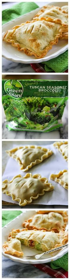 Tuscan Chicken and Broccoli Hand Pies