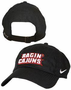 c6961012175 Nike Dri Fit Hat W  Ragin  Cajuns Logo university of Louisiana at Lafayette  Nike baseball cap