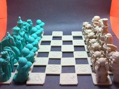 Been a while since I designed a chess set, and I realized that I've never actually printed one, so... here it is! Big props to Emmett for his amazing modular chess board design which served as inspiration to start this little project: http://www.thingiverse.com/thing:224664   The set is available in the Steam Workshops for Tabletop Simulator (an amazing program you should probably just go ahead and pick up if you don't have it). You can find that here…