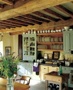 Amazing rustic kitchen