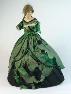 Half Doll Lilli Baitz for Restauration German Antique 1920´S