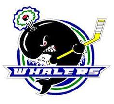 The Plymouth Whalers are a major junior ice hockey team in the Ontario Hockey League. They play out of Compuware Arena in Plymouth, Michigan, USA, a suburb of Detroit. Hockey Logos, Ice Hockey Teams, Sports Team Logos, Sports Art, Canada Hockey, Power Forward, Carolina Hurricanes, Nhl, Tatuajes