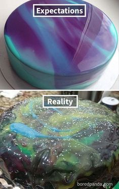 Expectations Vs Reality: 100 failed attempt to make a cake – Funnyfoto Funny Images, Funny Photos, Epic Cake Fails, Baking Fails, Bad Cakes, Cooking Humor, Expectation Reality, Purple Mirror, Funny Cake