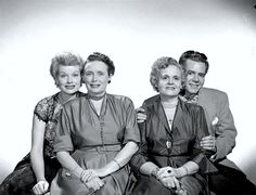 LUCY AND DESI   Lucy, Desi and their Mothers   Actors*Hotties!!