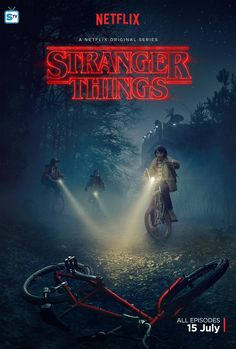 Stranger Things promo poster. // This is how it's done, yo.