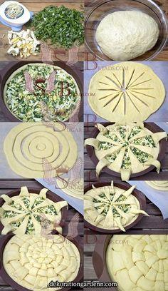 Irish Bread Braid - Food Recipes That looks good, if you ask me. Yummy Recipes, Bread Recipes, Baking Recipes, Yummy Food, Recipies, Pie Crust Designs, Sugar Bread, Bread Art, Bread Shaping