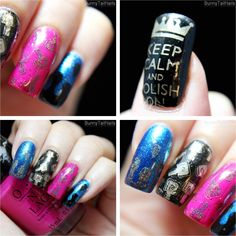 BunnyTailNails: Keep calm and stamp on… even if it kills you!