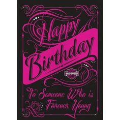 Harley davidson birthday cards for facebook birthday cards