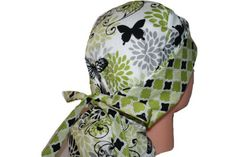 Surgical Scrub Hat Cap Ponytail Lime Grey Black Butterflies Scrumptious Scrub Hatz http://www.amazon.com/dp/B00CCDBW9Q/ref=cm_sw_r_pi_dp_fPJ5vb0YG0855