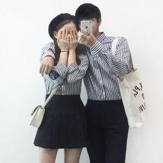 ลุคน่ารักๆ ของคู่รักด้วยเสื้อผ้าแบบเดียวกัน