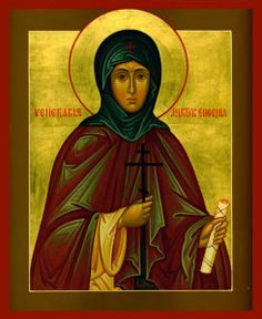 Dec 24/Jan 6 Venerable Martyr Eugenia Of Rome And Those With Her