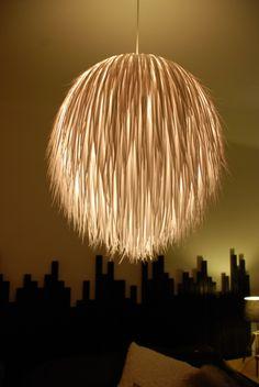 A fantastic rice lamp