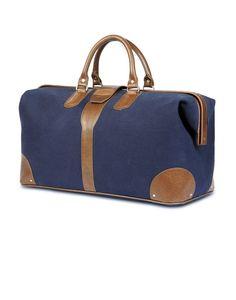 Doctor Bag - Navy Blue Canvas1