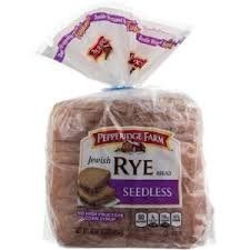 Pepperidge Farm: Jewish Rye Seedless Bread | Rye bread is a good source of vitamin b5, and I prefer the seedless variety, though others may enjoy the type with caraway seeds.