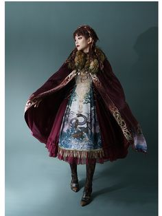 LolitaWardtobe - Bring You the latest Lolita dresses, coats, shoes, bags etc from Trustworthy Taobao indie Brands. We never resell Lolita items from untrustworthy Taobao stores. Moda Lolita, Mode Kawaii, Estilo Lolita, Fantasy Costumes, Japanese Street Fashion, Lolita Fashion, Women's Fashion, 1920s Fashion Male, Fashion Cape