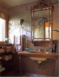 Mary McDonald's bathroom