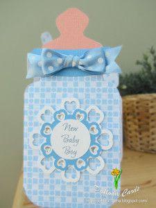 Molde de biberon para baby shower 4