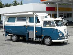 VW Caravelle optimized for camping