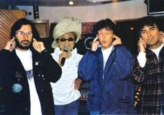 The Three Beatles with Yoko Ono, 1995 Aint that the truth