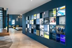 Harrison Spinks Headquarters and Showroom - Leeds - Office Snapshots Corporate Office Design, Office Wall Design, Feature Wall Design, Corporate Interiors, Office Walls, Office Interiors, Interior Design Pictures, Interior Design Books, Office Interior Design