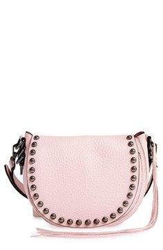 REBECCA MINKOFF Unlined Saddle Bag. #rebeccaminkoff #bags #shoulder bags #leather #crossbody