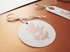 5 ronde hangtags Sand | Mino Paper Sweets