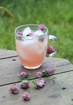 Red clover ice tea