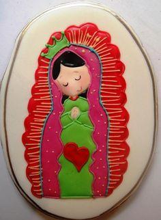 OMG, how adorable!!  Virgen de Guadalupe