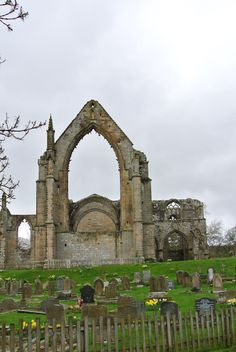 Bolton Abbey -- West Yorkshire England