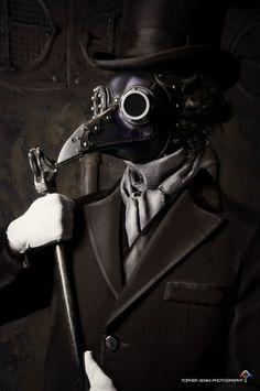 steampunk plague doctor