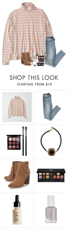 """""""i watched """"what lies beneath"""" last night and now im sooo scared."""" by classyandsassyabby ❤ liked on Polyvore featuring Abercrombie & Fitch, MAC Cosmetics, Plukka, Nine West, Anastasia Beverly Hills, NYX and Essie"""