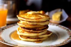 39 Ideas for Mother's Day Breakfast and Brunch - Recipes from NYT Cooking How To Make Pancakes, Pancakes Easy, Buttermilk Pancakes, Pancakes And Waffles, Cooking Pancakes, Pancakes Recipe Basic, Basic Pancake Recipe No Baking Powder, Pancakes With Plain Flour, Best Easy Pancake Recipe