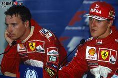 Eddie Irvine 1996 | ... Nr. 6: Michael Schumacher & Eddie Irvine (Ferrari, 1996 bis 1999