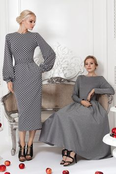 Pre Fall Collection 15 Source by arianeowl Lovely Dresses, Modest Dresses, Simple Dresses, Elegant Dresses, Beautiful Outfits, Casual Dresses, Classy Dress, Classy Outfits, Vestidos Vintage