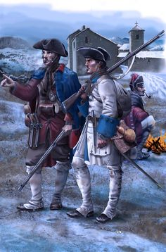 French line infantry during the Seven Years War