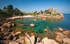 The best unsung family beach holiday resorts in Europe: this week,   Ploumanac'h, on Brittany's Pink Granite Coast, with information on booking   accommodation, transport and where to eat