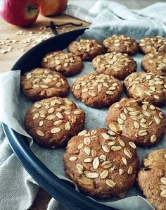 Biscotti Cookies, Brownie Cookies, Cookie Bars, Fall Recipes, Sweet Recipes, Vegan Recipes, Happy Diet, Magic Recipe, Sustainable Food