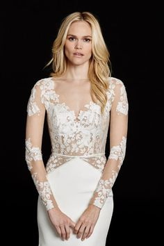 Bridal Gowns, Wedding Dresses by Hayley Paige - Style HP6559 - Mona
