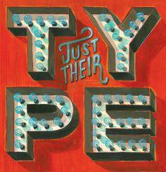 Jeff Rogers typography