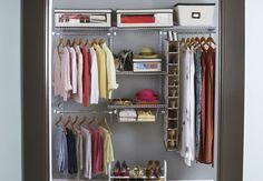 Delicieux Kleine Schrank Organisatoren. Organized Small ClosetsSmall ...