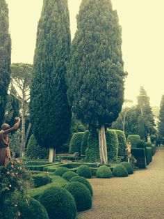 Villa Gherardini, poi Sanminiatelli, Toscana: I giardini