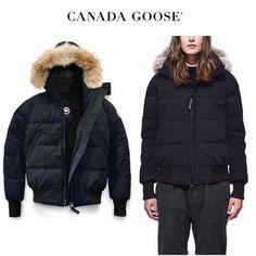 CANADA GOOSE ダウンジャケット・コート CANADA GOOSE Savona Bomber レディライクでお上品なネイビー Canada Goose Women, Winter Jackets, Fashion, Winter Coats, Moda, Winter Vest Outfits, Fashion Styles, Fashion Illustrations